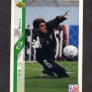 1994 Upper Deck World Cup Contenders English/Spanish Soccer #083 Zetti - Brazil