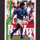 1994 Upper Deck World Cup Contenders English/Spanish Soccer #080 Marcio Santos - Brazil