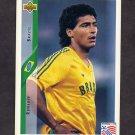 1994 Upper Deck World Cup Contenders English/Spanish Soccer #076 Romario - Brazil