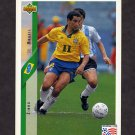 1994 Upper Deck World Cup Contenders English/Spanish Soccer #074 Zinho - Brazil