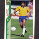 1994 Upper Deck World Cup Contenders English/Spanish Soccer #072 Mauro Silva - Brazil