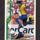 1994 Upper Deck World Cup Contenders English/Spanish Soccer #067 Jorginho - Brazil