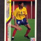 1994 Upper Deck World Cup Contenders English/Spanish Soccer #065 Hernan Gaviria - Colombia