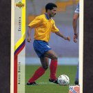1994 Upper Deck World Cup Contenders English/Spanish Soccer #052 Alexis Garcia - Colombia