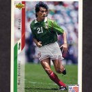 1994 Upper Deck World Cup Contenders English/Spanish Soccer #045 Raul Gutierrez - Mexico