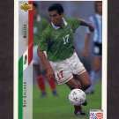 1994 Upper Deck World Cup Contenders English/Spanish Soccer #044 Ben Galindo - Mexico