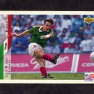 1994 Upper Deck World Cup Contenders English/Spanish Soccer #042 Luis Salvador - Mexico