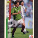 1994 Upper Deck World Cup Contenders English/Spanish Soccer #040 Luis Garcia - Mexico