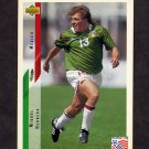 1994 Upper Deck World Cup Contenders English/Spanish Soccer #035 Miguel Herrera - Mexico