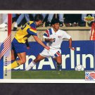 1994 Upper Deck World Cup Contenders English/Spanish Soccer #020 Mark Chung - U.S.A.