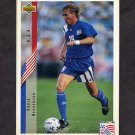 1994 Upper Deck World Cup Contenders English/Spanish Soccer #012 Chris Henderson - U.S.A.