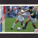1994 Upper Deck World Cup Contenders English/Spanish Soccer #011 Cobi Jones - U.S.A.