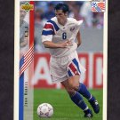 1994 Upper Deck World Cup Contenders English/Spanish Soccer #008 John Harkes - U.S.A.