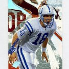 2003 SPx Football #001 Peyton Manning - Indianapolis Colts