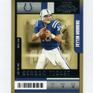 2004 Playoff Contenders Football #045 Peyton Manning - Indianapolis Colts