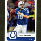 2006 Fleer Football #041 Peyton Manning - Indianapolis Colts