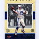 2002 Fleer Genuine Football #047 Peyton Manning - Indianapolis Colts