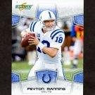 2008 Score Football #127 Peyton Manning - Indianapolis Colts