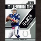 2011 Score Millennium Men Football #014 Peyton Manning - Indianapolis Colts