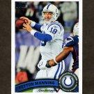 2011 Topps Football #300A Peyton Manning - Indianapolis Colts