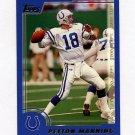 2000 Topps Football #100 Peyton Manning - Indianapolis Colts