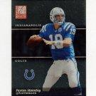 2003 Donruss Elite Football #021 Peyton Manning - Indianapolis Colts