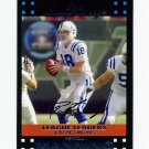 2007 Topps Football #396 Peyton Manning - Indianapolis Colts