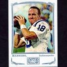 2009 Topps Mayo Silver Football #211 Peyton Manning - Indianapolis Colts