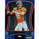 2012 Panini Black Friday Football #001 Peyton Manning - Denver Broncos