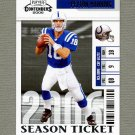 2006 Playoff Contenders Football #043 Peyton Manning - Indianapolis Colts