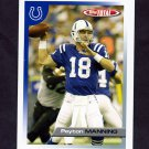 2005 Topps Total Football #338 Peyton Manning - Indianapolis Colts
