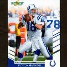 2007 Score Football #220 Peyton Manning - Indianapolis Colts