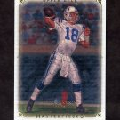 2008 UD Masterpieces Football #068 Peyton Manning - Indianapolis Colts