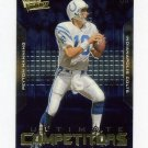 2000 Ultimate Victory Competitors Football #UC2 Peyton Manning - Indianapolis Colts