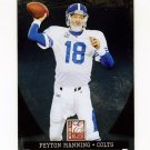 2011 Donruss Elite Football #042 Peyton Manning - Indianapolis Colts