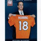 2012 Elite Football #045 Peyton Manning - Denver Broncos