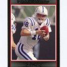 2007 Bowman Football #012 Peyton Manning - Indianapolis Colts