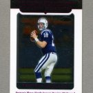 2005 Topps Chrome Football #162 Peyton Manning - Indianapolis Colts