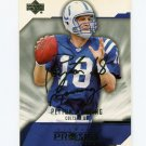 2004 UD Diamond Pro Sigs Football #039 Peyton Manning - Indianapolis Colts
