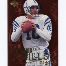 2000 Black Diamond Football Skills #DS07 Peyton Manning - Indianapolis Colts