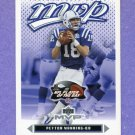 2003 Upper Deck MVP Football #089 Peyton Manning - Indianapolis Colts