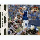 2010 Panini Threads Football #062 Peyton Manning - Indianapolis Colts