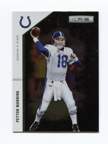 2011 Rookies and Stars Longevity Football #066 Peyton Manning - Indianapolis Colts