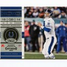 2011 Playoff Contenders Football #031 Peyton Manning - Indianapolis Colts