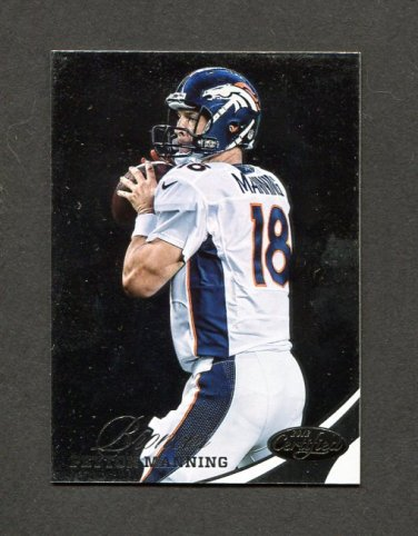 2012 Certified Football #055 Peyton Manning - Denver Broncos