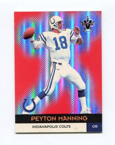 2000 Vanguard Football #022 Peyton Manning - Indianapolis Colts