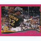 2014 Topps Mini Pink Baseball #452 Andrew McCutchen - Pittsburgh Pirates Serial #03/25