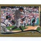 2014 Topps Mini Gold Baseball #526 Avisail Garcia - Chicago White Sox Serial #49/63