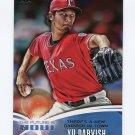 2014 Topps Mini The Future Is Now Baseball #FN47 Yu Darvish - Texas Rangers