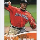 2014 Topps Mini The Future Is Now Baseball #FN41 Jose Fernandez - Miami Marlins